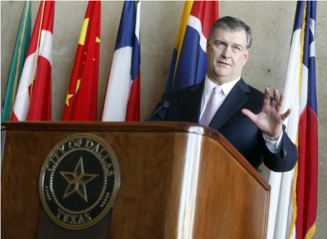 Violence Is Men S Fault Says Dallas Mayor We Ve Created