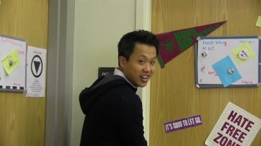 Social worker Derek Wang manages the Diablo Community Center