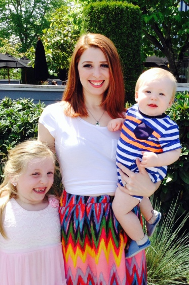 Tabitha Lawson and her two children
