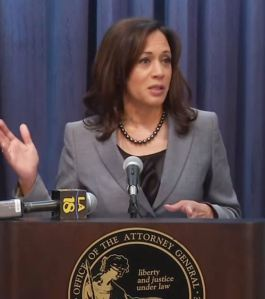 California State Attorney General Kamala Harris
