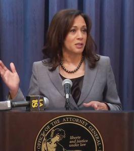 California State Attorney General Kamala Harris