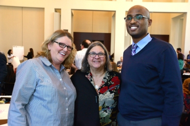 Laura Porter, Margie Schaps and Dr. Roy Wade. (Mike Kelly photo)