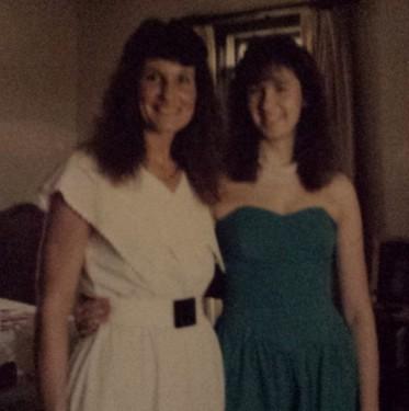 Mom and me, 1987
