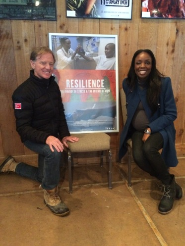 James Redford and Dr. Nadine Burke Harris