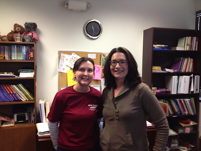 Tammy Ambre (l) and Keri Bechelli of One Hope United