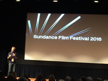 James Redford at premiere of Resilience